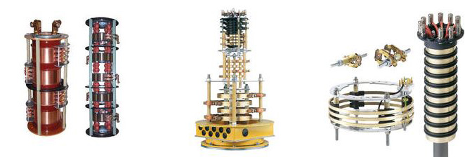 Several Slip Ring Assemblies