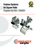 Festoon Systems for Square Rails Programs 0270 | 0280 ATEX