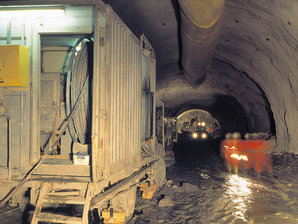 康稳为隧道行业提供动力&数据传输系统