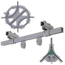 物料处理, 手动 - C型导轨系列